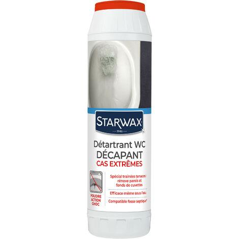 Détartrant surpuissant en poudre pour WC 1kg STARWAX