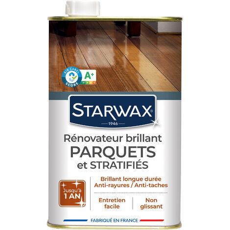 Rénovateur brillant protecteur pour parquets et sols stratifiés 1L STARWAX