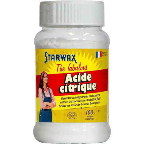Acide citrique 400g STARWAX FABULOUS
