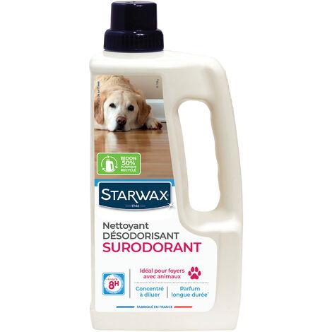 Nettoyant désinfectant surodorant 1L parfum fruits rouges STARWAX