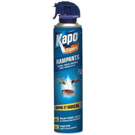 Insecticides insectes rampants