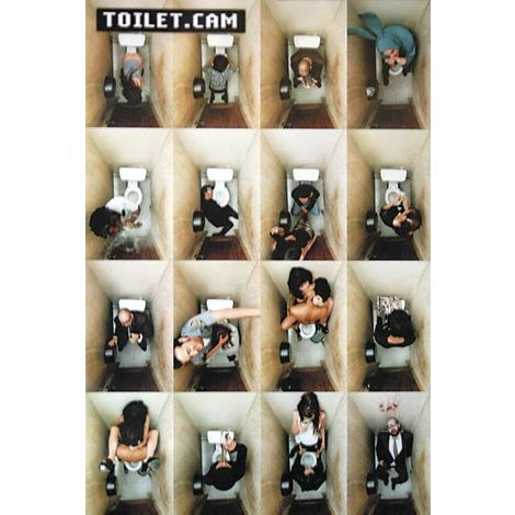 "Toilet.Cam Poster Collage (""harte"" Version, exclusiv bei Close Up!)"