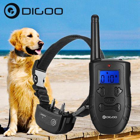 Digoo DG-PPT1 COLLIER ANTI ABOIEMENT ELECTRIQUE RECHARGEABLE ETANCHE POUR POUR CHIEN