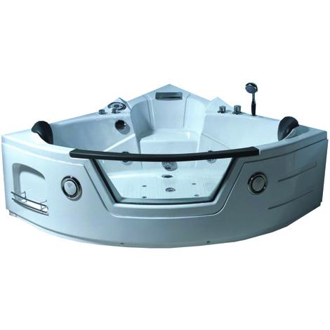 Esquina bañera de hidromasaje Modelo TENERIFE 150 X 150 cm