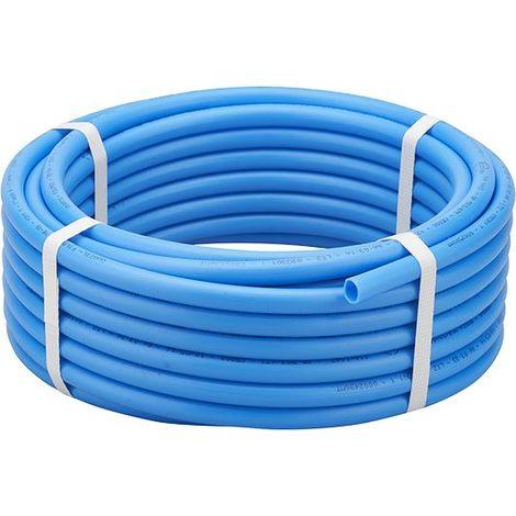 Tube PER nu bleu