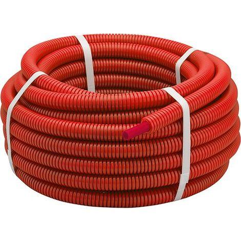 Tube PER gainé rouge