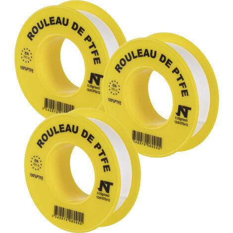 Rouleau Téflon® longueur 12m largeur 12mm NOYON & THIEBAULT
