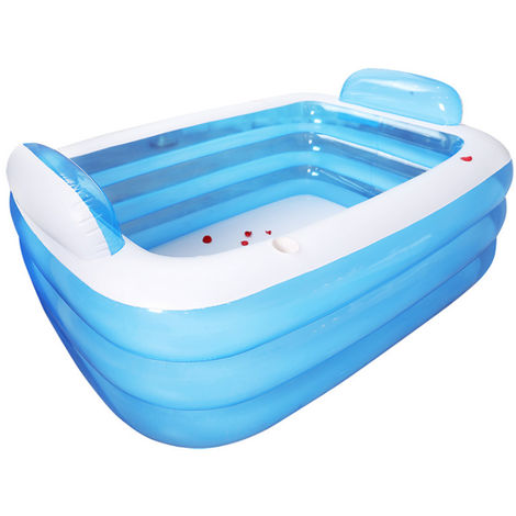 2 PERSONS bathtub - Inflatable 3-layer thickened PVC pool