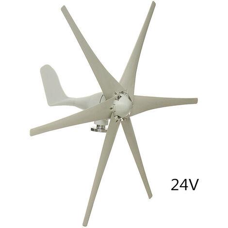 24V 6000W 6 Blades Wind Turbine Generators Windmill Power Aerogenerator Charge
