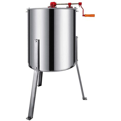 Melko honey extractor 4 honeycombs stainless steel honey extractor manual beekeeping centrifuge honey extractor tangential centrifuge beekeeper