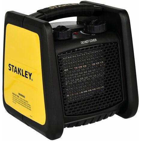 Radiateur mobile pour atelier ou garage - Céramique - STANLEY - 1800W - noir