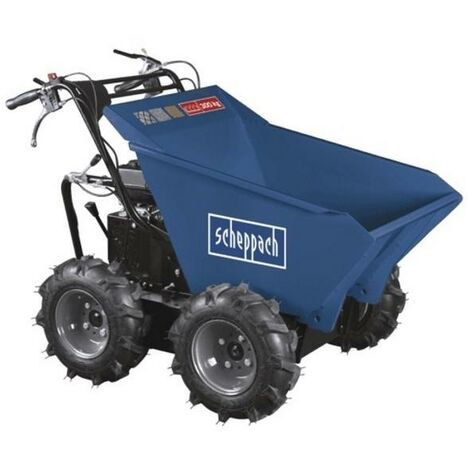 MOTORISED PETROL DUMPER POWER BARROW 4 STROKE 6.5HP SCHEPPACH DP3000