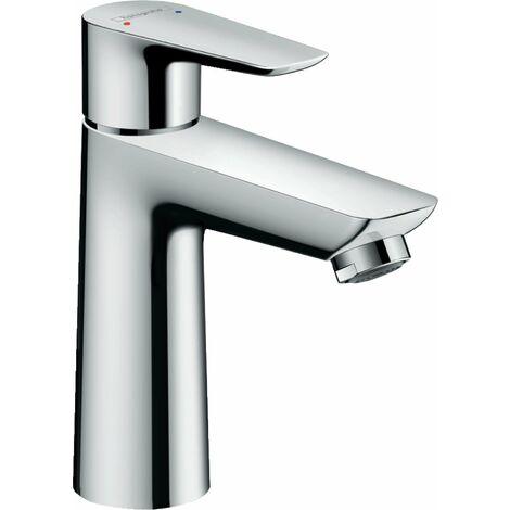 hansgrohe Talis E miscelatore monocomando per lavabo 110, scarico a scomparsa, sporgenza 112 mm, colorazione: cromo - 71710000