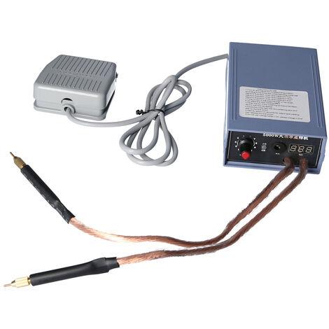 Outil de soudage de batterie au lithium de machine de soudage par points de batterie 5000W pour batterie 18650