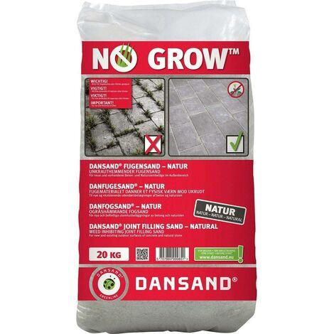 NO GROW Dansand Fugensand unkrauthemmend natur 1-5mm Fugenbreite, 20 kg