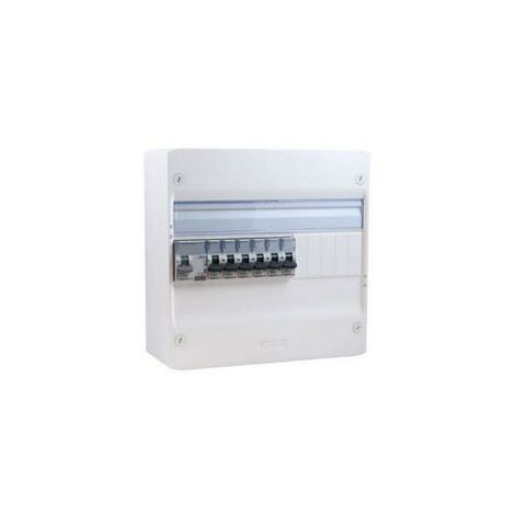 Tableau électrique pré-équipé et cablé 1 rangée legrand