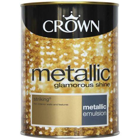 Crown Metallic Glamorous Shine - Striking - 1.25L