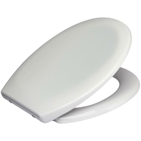 Euroshowers White Toilet Seat Opal One Soft Close Quick Release Hinges