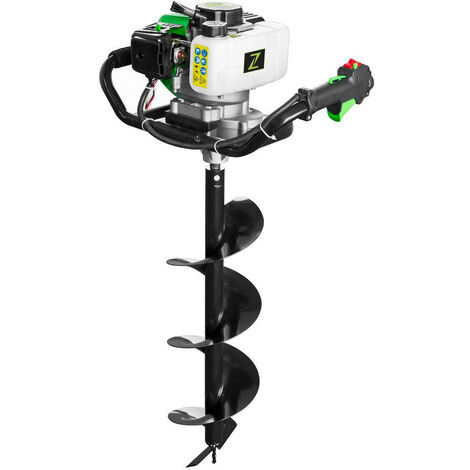 Zipper ZI-ELB70 51.7cc Petrol Earth Auger Post Borer | 100mm + 150mm + 200mm Dia
