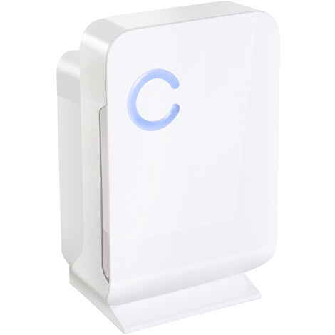 Homcom Deumidificatore Elettrico Portatile con Serbatoio da 1300ml