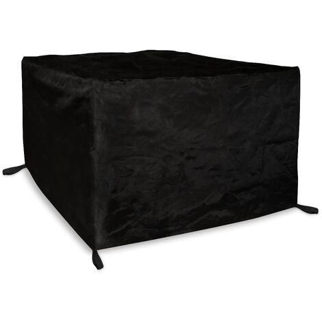 VONROC Copertura protettiva impermeabile per mobili da giardino 185x150x95cm. Telo per tavolo e 4-6 sedie per set da pranzo da esterno. Anti-UV