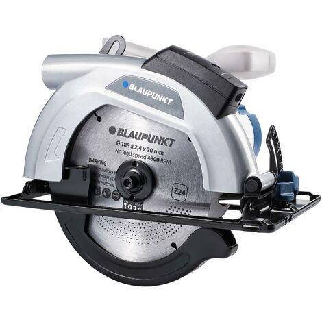 Blaupunkt CZ 3000 sierra circular eléctrica - 185 mm - 1300 W - 4800 rpm - Guía láser