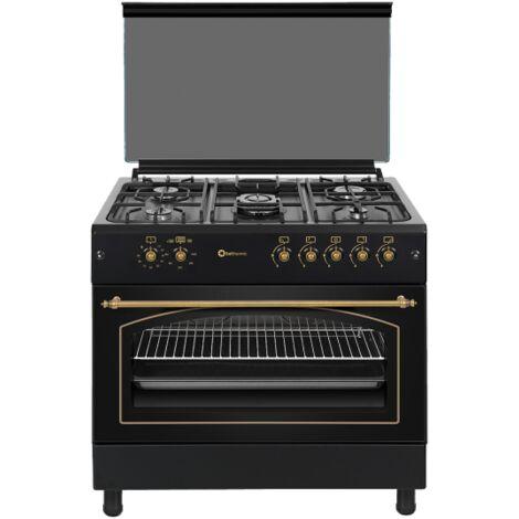 Cocina a gas 90x60, Horno Panoramico