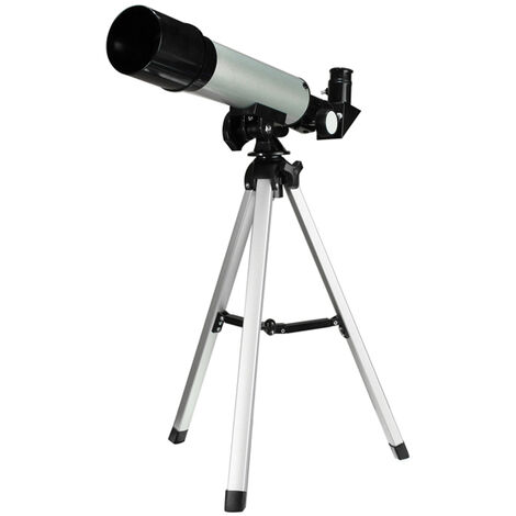 Refraction 360 X 50 Astronomical Telescope With Portable Tripod Sky Monocular Telescopic Space Observation Scope Gift for Beginner Kids Children Mohoo