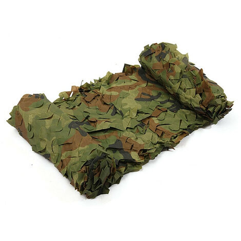 Camouflage Net Military Woodlands Sheet 3x4m Camouflage For Hunting / Camping Mohoo