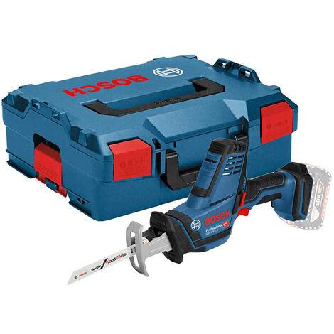 Scie sabre BOSCH GSA 18V-LI C - Sans batterie, ni chargeur - 3 Lames, en coffret - 06016A5001