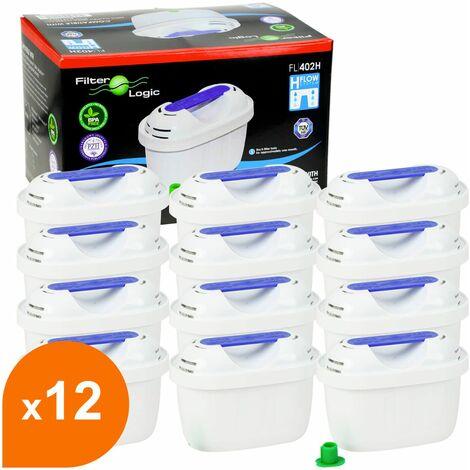 Filtre carafe filtrante FL-402H - Cartouche compatible Brita® Maxtra® (lot de 12)
