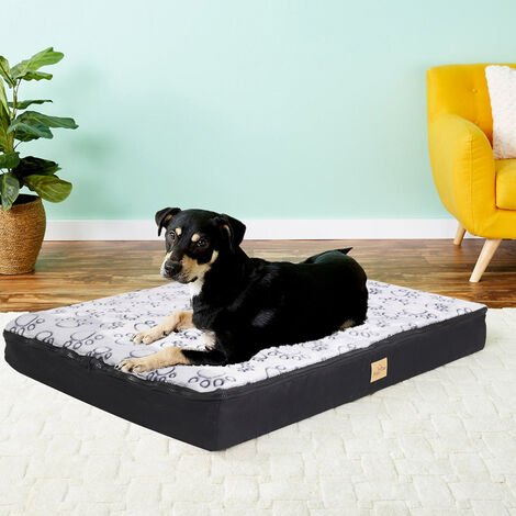 Waterproof Jumbo XL Pet Bed for Large Dog Orthopedic Mattress w/ Removable Cover - different size available