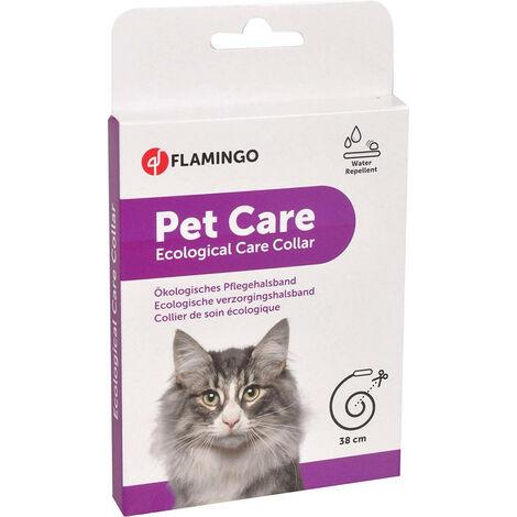 Collar Ecological Care sin insecticida para gatos 38 cm