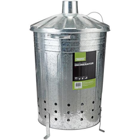 Galvanised Garden Incinerator (85L)