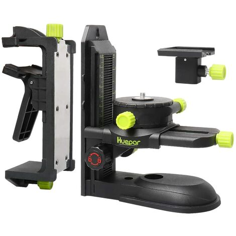 Huepar PV10 + Adattatore di livello laser con staffa di regolazione fine