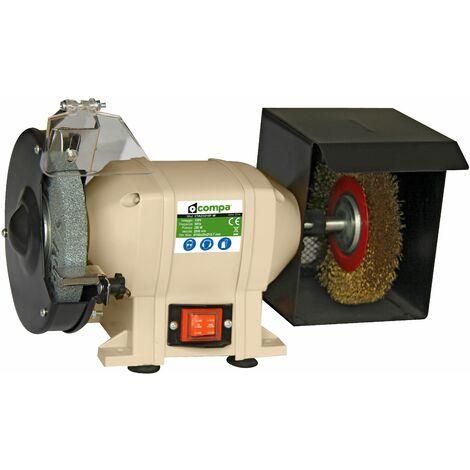 Mola da banco 250W smerigliatrice pulitrice CTAD3215F-W