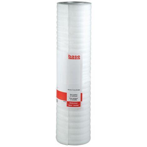 Baseline Sous-Couche 15m² - 2mm - Pour Parquet et Stratifié - 1x15m