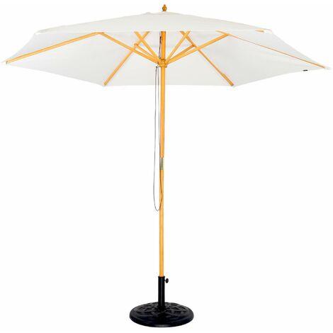 Parasol en bois rond 300cm - Cabourg