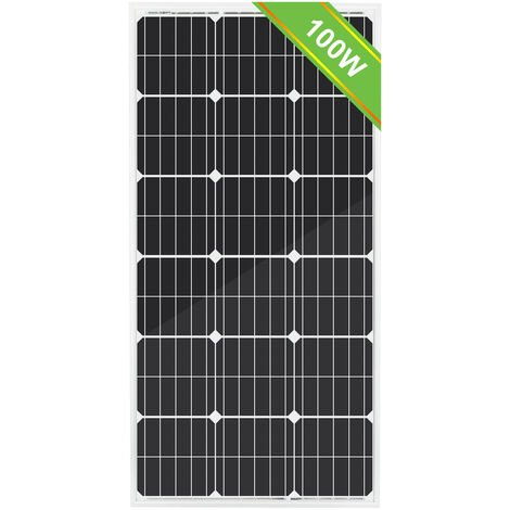 Modulo 100W mono pannello solare ad alta efficienza per camper camper