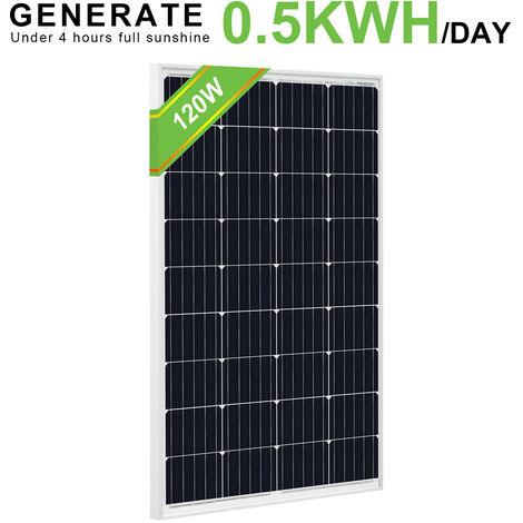 Modulo 120W mono pannello solare ad alta efficienza per camper camper