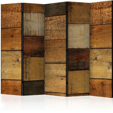 Biombo - Wooden Textures II [Room Dividers] - 225x172