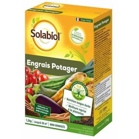 Engrais bio potager 1.5Kg SOLABIOL. - Root > Accueil > Serrurerie > Destockage