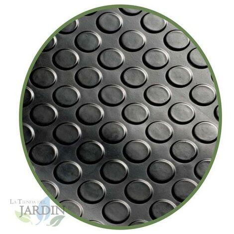 Revêtement de sol en caoutchouc Cercles 3 mm, 1,2 x 2 m