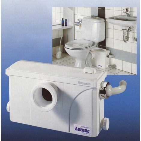 LOMAC SOUVERAIN 3000-A, Fäkalienhebeanlage mit Kleinrohrsystem