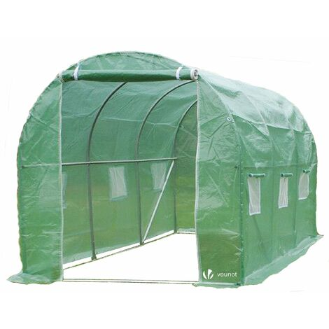 VOUNOT Polytunnel Greenhouse Gardening Walk In Tent