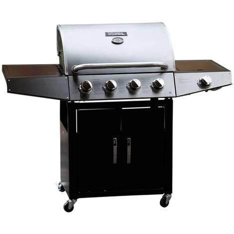 Barbecue a gas Party 5 - 5 Piastre di cui 1 laterale - 15.2 kW