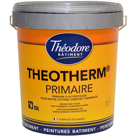Theotherm Primaire : peinture primaire murs et façades avant Theotherm intérieur ou extérieur