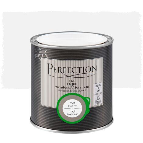 Perfection Lack auf Wasserbasis - Matt - 01 Titanweiß - 750ml - 10m² - Ultra Deckkraft