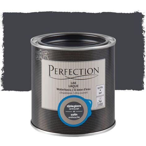 Perfection Lack auf Wasserbasis - Satin - 01 Titanweiß - 750ml - 10m² - Ultra-Abdeckung