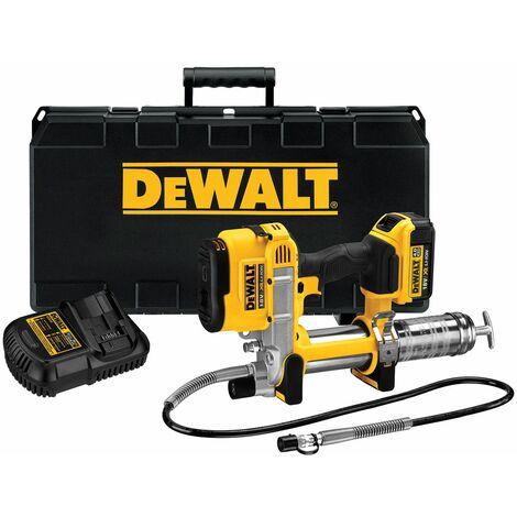 DeWalt DCGG571M1 18V Li-Ion batería Pistola engrasadora (1 x 4.0Ah batería) en maletín
